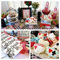 Incredible Alice in Wonderland  birthday party! See more party planning ideas at CatchMyParty.com!