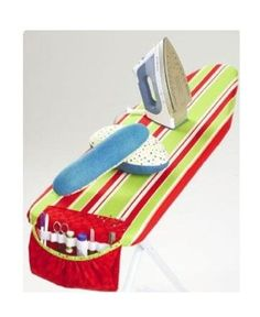 IRONING BOARD COVER Sewing Pattern - Caddy Pressing Ham Sleeve Roll - Kwik Sew
