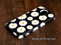 #acycshop Sunflower Chrysanthemum Floral Painting Samsung Galaxy S5/S4/S3/Note 3/Note 2 3D-Wrap Case
