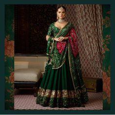 #love the green #sabyasachi #my fav