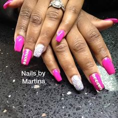 Nails By Martina  #Pink Boutique by martinalaboy