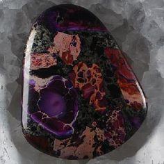 FREE SHIP! 47x39x6 Sea Sediment Jasper Chalcopyrite Freeform Pendant Bead ;E-1085 Gemstones For Sale, Jasper, Amethyst, Ship, Texture, Rock, Beads, Crystals, Pendant