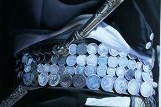 #rastra #facon #monedas #vestimenta #gaucho #argentino ♥