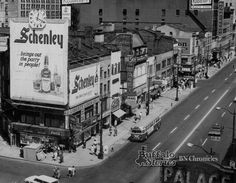 "Buffalo's ""TImes Square"": Shelton Square - Torn Down in 1964. Another epic urban planning blunder."