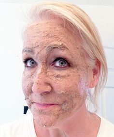 super exfoliating face mask  3 Tablespoons baking soda  1 teaspoon honey  3 to 4 Vitamin E capsules (squeeze the oil out of the capsules)  3 to 4 teaspoons milk (or water if your prefer)  1/4 teaspoon cinnamon