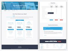 Pricing page overview - compare plans