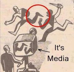 Mass media - We're shown what they want us to see.