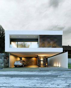 Casa Tulancingo Status V-ray for 3D Max/PSD Designed by NOVA arquitectura #mexico . see mor