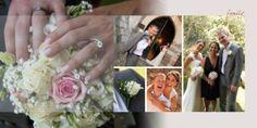 destination wedding album page by www.InspiredAlbumDesigns.com -- Lake Garda