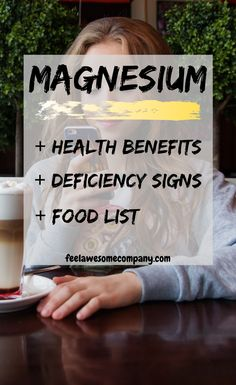 Magnesium is a wonderful mineral that helps us stay young, healthy and strong. A magnesium deficiency in your body can make you age faster! Women's Health, Health Benefits, Health And Wellness, Health Tips, Mental Health, Benefits Of Magnesium Supplements, Weight Loss Supplements, How To Conceive, Brain Nutrition