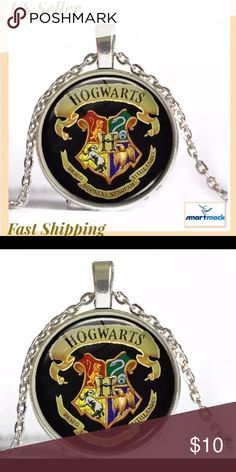 Harry potter necklace fashion pendant Material:Alloy pendant size:28 mm Chain length :50cm Accessories Jewelry