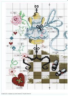 Gallery.ru / Фото #2 - 206 - lillyt Funny Cross Stitch Patterns, Cross Stitch Love, Cross Stitch Charts, Cross Stitch Designs, Cross Stitching, Cross Stitch Embroidery, Embroidery Patterns, Alice In Wonderland Cross Stitch, Blackwork
