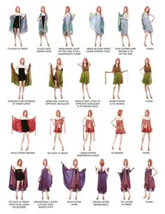 The Wrapsody Skirt how-to guide