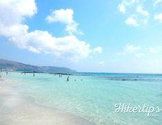 Elafonisi Beach, an amazing pink sand beach - HikerTips Pink Sand Beach, Beach Fun, Crete, Beaches, World, Amazing, Water, Outdoor, Gripe Water
