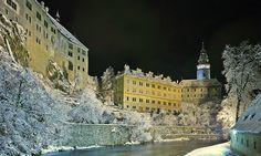 Ceský Krumlov Castle - Constructed in 1240.