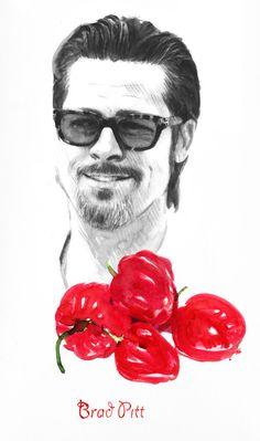 The Vegetarians by Berto Martinez, via Behance