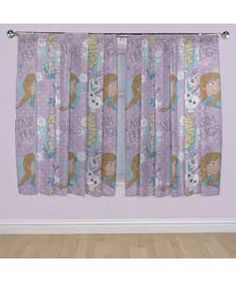 Buy Disney Frozen Crystal Curtains - 168x183cm - Multicoloured at Argos.co.uk, visit Argos.co.uk to shop online for Curtains