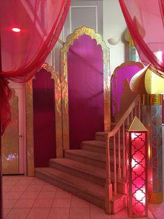 Andrea's Arabian Nights: Magalie Sarnataro's props : entrance