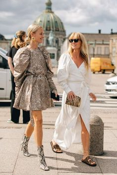 Copenhagen Fashion Week: The Street Style We Loved Copenhagen Street Style, Copenhagen Fashion Week, Sandro, How To Have Style, Klum, Casual Summer Outfits, Looks Style, Street Chic, Fashion Outfits