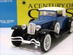 The century of cars collection was a 1:43 scale model collection published by  hachette publications.  There were originally eighty model...