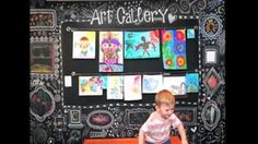 Kids Art Gallery Wall - Process Video on Vimeo