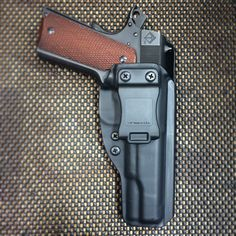 1911 Wraith Holster setup in an appendix configuration.