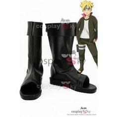 Boruto Naruto the Movie Boruto Cosplay Shoes_2