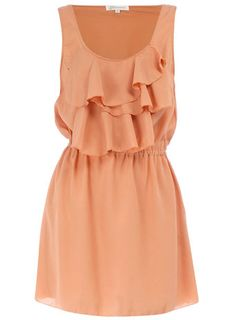 Dorothy Perkins ruffle front dress!!!