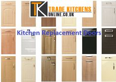 Remodeling a kitchen involves huge expenditure. Instead, one can simply use Kitchen Replacement doors and create a whole new look for the kitchen. These doors are made of a material called rigid thermal foil or RTF, which look like wood but are not as expensive. Moreover, they come in a large range of selection of doors and cabinets.