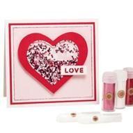 Martha Stewart Crafts™ | Valentine's Day Glitter Shaker Card