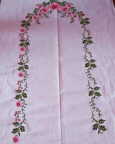 Crochet Bedspread, Baby Knitting Patterns, Diy And Crafts, Cross Stitch, Embroidery, Cross Stitch Designs, Cross Stitch Embroidery, Silk, Cross Stitch Patterns