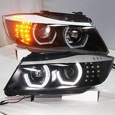 Motowey specializes in BMW Tuning, BMW Tuning, BMW Tuning of OEM BMW headlights and Car Headliner Fabrics and we quickly grew to offer our parts worldwide. Motowey is not just about Tuning, Tuning and Tuning its also about family and love for BMW cars. Custom Headlights, Led Headlights, New Bmw 5 Series, Bmw Interior, E90 Bmw, Car Interior Accessories, High Beam, Angel Eyes, Stay Cool