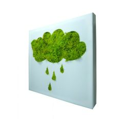 so coo for the kids' room! moss art natural moss wall decor moss cloud by HandmadeStylishHome Moss Wall Art, Moss Art, Wall Art Decor, Graffiti En Mousse, Cool Shapes, How To Preserve Flowers, Plant Wall, Wall Signs, Kids Room