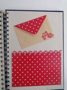 Caderno de anotação. Parte interna. Facebook Alecrim Artes