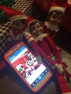 Someone was Hacked!  Elfie Selfie!