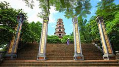 Thien Mu pagoda Hue is one of the most attractive places in the ancient city. Contact us now to get a beautiful trip to Thien Mu pagoda Hue Ho Chi Minh Ville, Ho Chi Minh City, Vietnam Voyage, Vietnam Travel, Hanoi, Hue, Destinations, Beautiful Sites, Cambodia