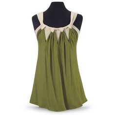 Moss Draped Tank Top - Women's Clothing & Symbolic Jewelry – Sexy, Fantasy, Romantic Fashions
