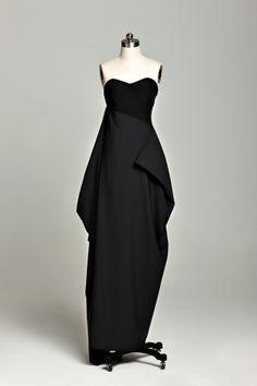 la chambre miniature SS 2013 Strapless Dress, Collection, Dresses, Design, Fashion, Miniature Rooms, Strapless Gown, Vestidos, Moda