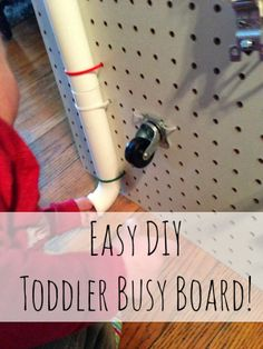 Cant Google Everything: DIY Toddler Busy Board!