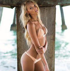 Montce Nude Peach Braided Uno x Dopio Bikini Set -- @ Luxe Cartel