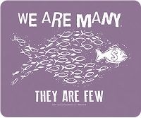 T-Shirt - We Are Many, They Are Few 2X Syracuse Cultural Workers