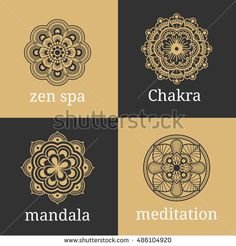 Vintage luxury floral sign for tattoo, logo and decorative design element. Mandala tattoo Vector illustration