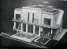 1936 Dolls house in the Bethnal Green Museum