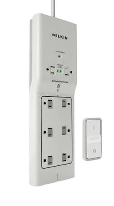 Belkin Conserve Switch Energy-Saving Surge Protector with Remote