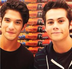 Teen Wolf MTV, Tyler and Dylan (Scott and Stiles)
