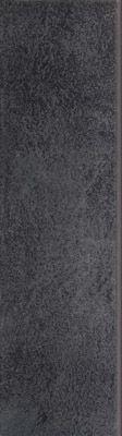 Cokół Bazalto Grafit Dekoracje podłogowe - 8,1x30 - Klinkier Bazalto