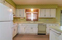 1970s 1971 vintage décor unchanged kitchen original South Lyon Michigan home house for sale real estate photo