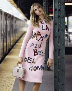 "Duchess Dior: ""Subway Life"" Hailey Clauson for Grazia France Aug/Sept 2015"