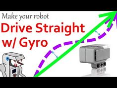 This video will teach you how to write a program in that utilizes the Gyro sensor to make your robot drive straight. Lego Wedo, Lego Mindstorms, Lego Coding, First Lego League, Educational Robots, Lego Activities, Lego Robot, Youtube I, Robot Design