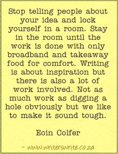 Quotable - Eoin Colfer